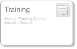 Training Modular Training Courses Bespoke Courses