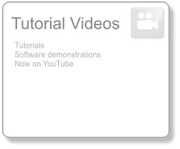 Tutorial Videos Tutorials Software demonstrations Now on YouTube