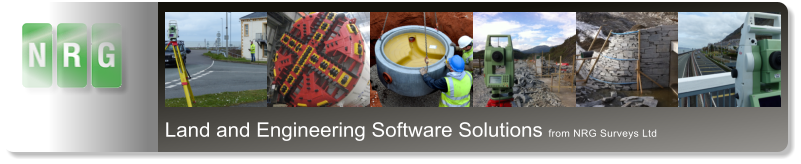 Land and Engineering Software Solutions from NRG Surveys Ltd
