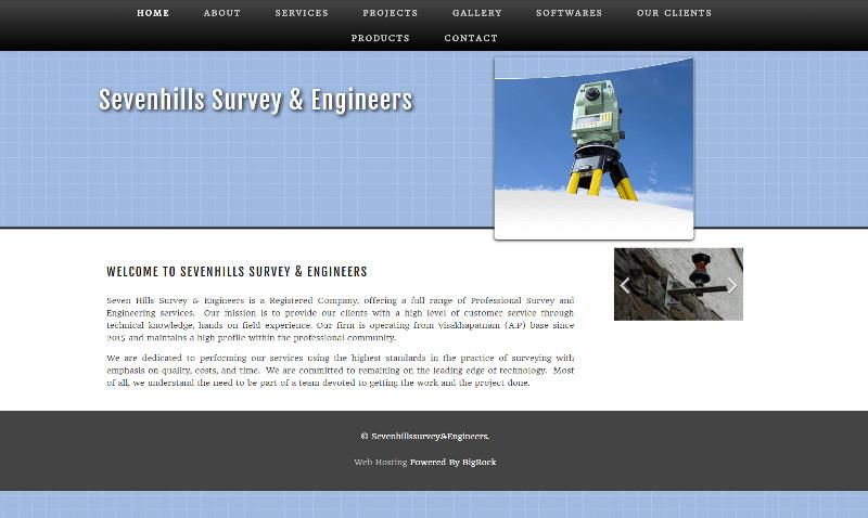 Seven Hills Survey NRG Software Dealer India