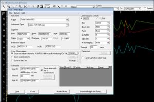 NRG Survey Software Deformation Monitoring realtime monitoring setup options