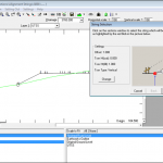 NRG Survey Software Cross Section module - Generating setting out information from a scetion layer.