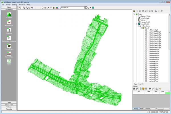 nrg survey software base module screenshot 1