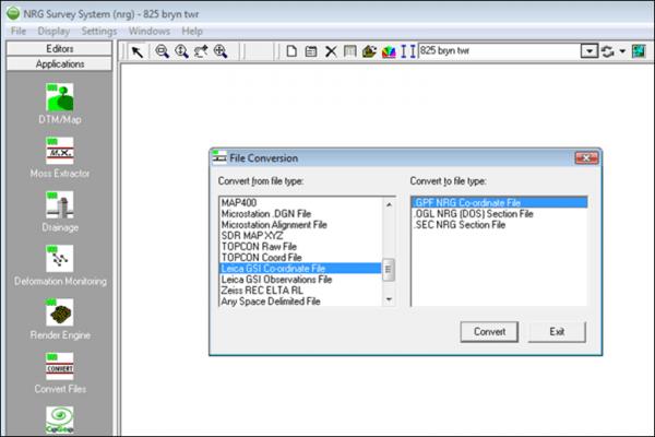 nrg survey software base module screenshot 2