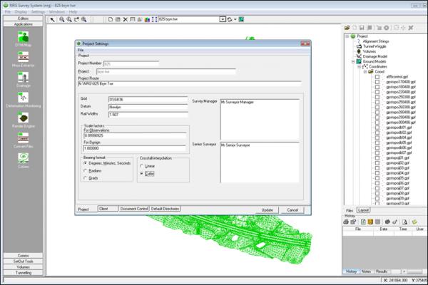 nrg survey software base module screenshot 4