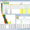 NRG Survey System DTM Map Module - Volume report for a surface to surface volume run.