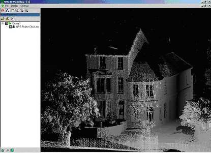 nrg survey 3d render module scanner point cloud