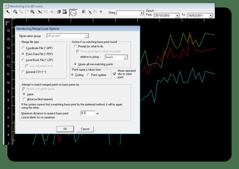 Loading/merging monitoring data into the monitoring module.