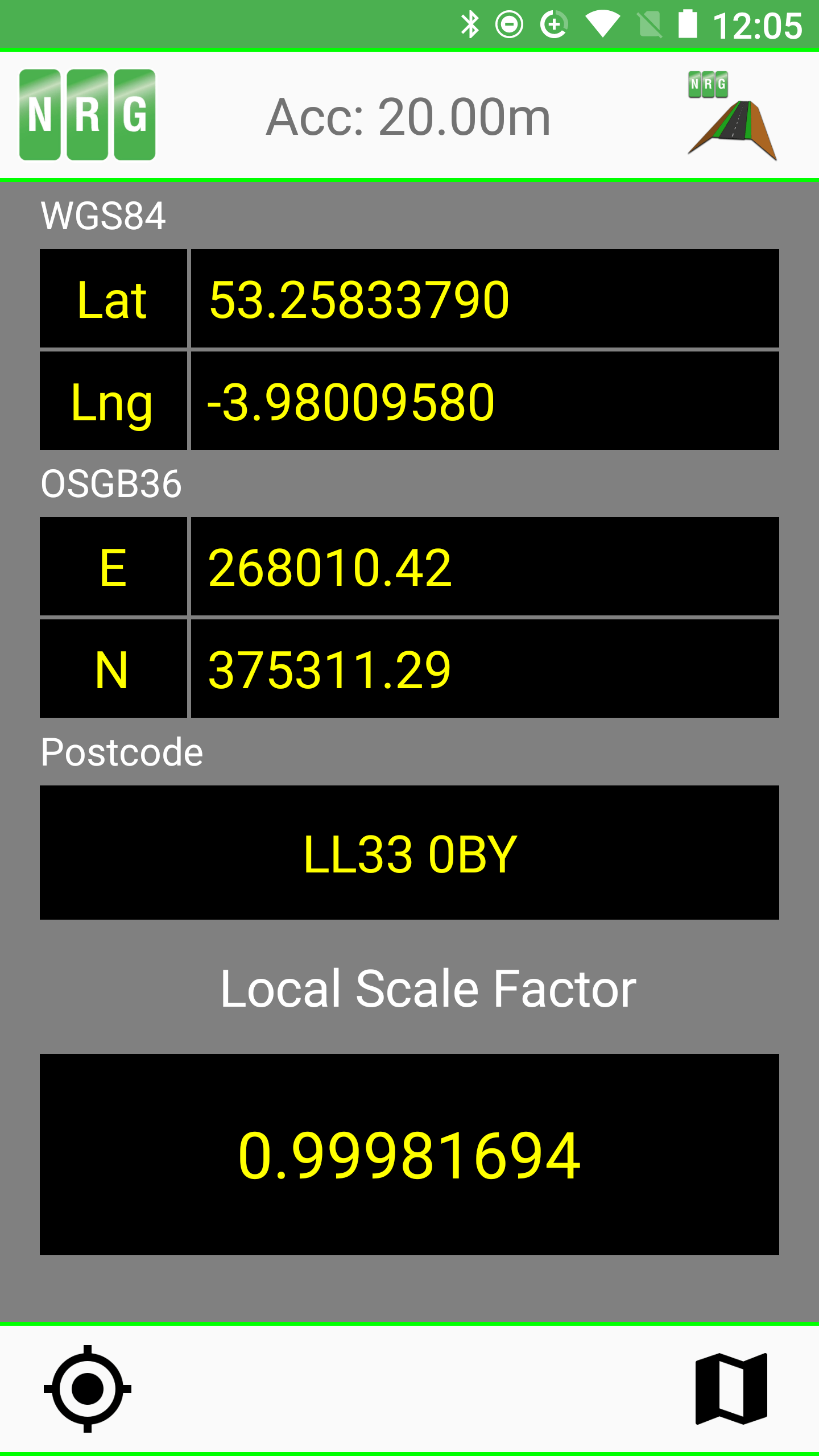 local scale factor app view 2