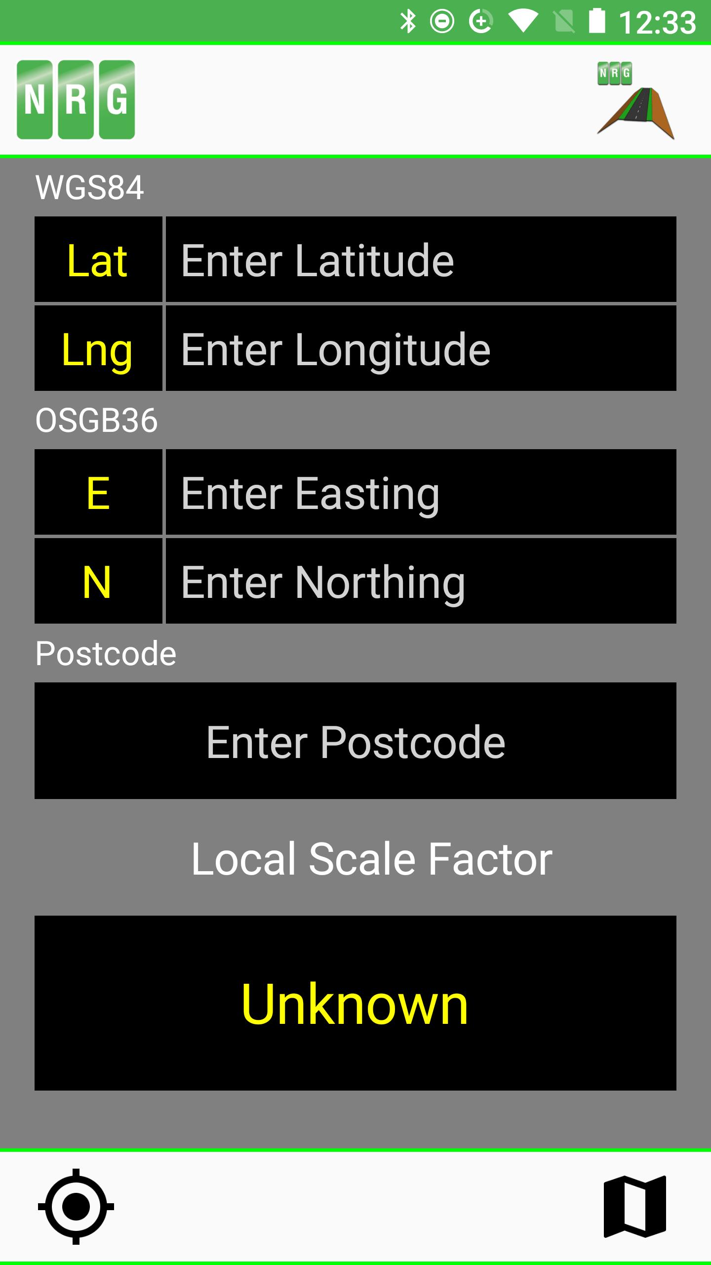 Local Scale Factor App – NRG Surveys